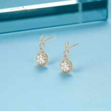 Spin-ING Diamond Earring 18K Yellow Gold