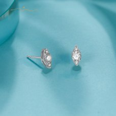 Carina Diamond Earring 18K White Gold