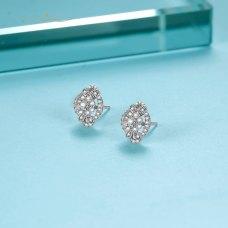 Flissy Diamond Earring 18K White Gold