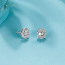 Merrin Diamond Earring 18K White Gold
