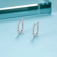 Avien Diamond Earring 18K White Gold