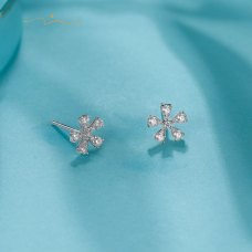 Cremo Diamond Earring 18K White Gold