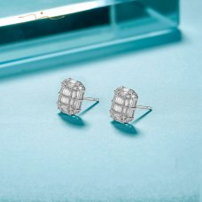Frins Diamond Earring 18K White Gold