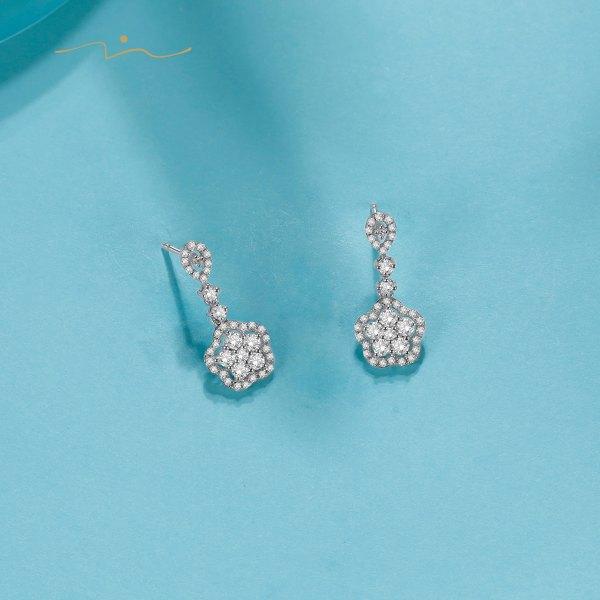 Delish Diamond Earring 18K White Gold