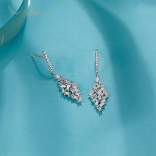 Primey Diamond Earring 18K White Gold