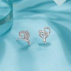Nellisa Diamond Earring 18K White Gold