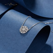Frenado Diamond Necklace 18K White Gold