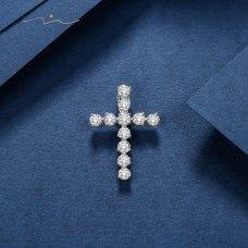 Jiron Diamond Pendant 18K White Gold