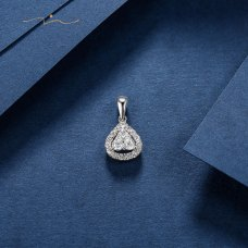 Re'viel Diamond Pendant 18K White Gold
