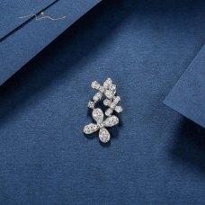 Mercus Diamond Pendant 18K White Gold