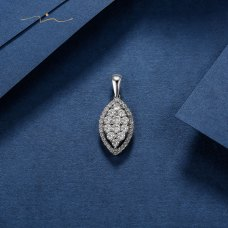 Sher'el Diamond Pendant 18K White Gold