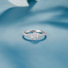 Roline Diamond Ring 18K White Gold