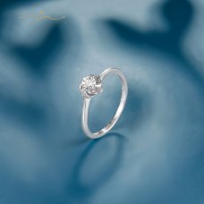 Hinel Diamond Ring 18K White Gold