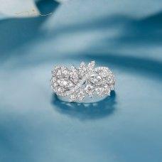 Vexana Diamond Ring 18K White Gold