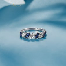 Tabalin Diamond Ring 18K White Gold