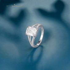 Sujin Diamond Ring 18K White Gold