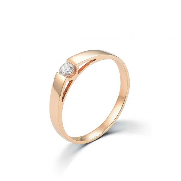 Diara Women's Diamond Wedding Ring 18K Rose Gold