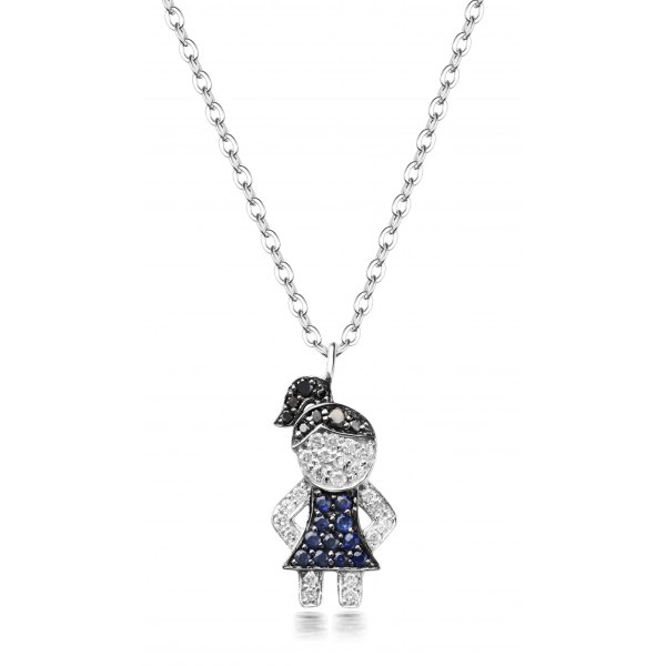 Aliso Pave Diamond Necklace