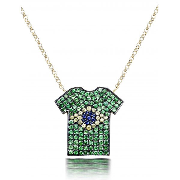 Chandler Pave Diamond Necklace