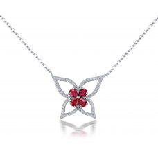 Bagrot Prong Diamond Necklace