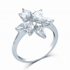 Maahes Prong Marquise Diamond Ring