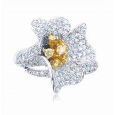 Montu Pave Round Diamond Ring