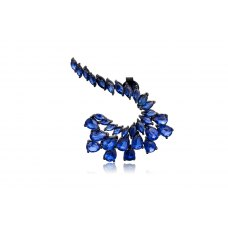Homage Kyanite Earring 18K Black Gold