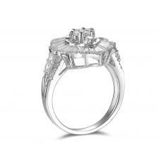 Luminoso Diamond Ring 18k White Gold