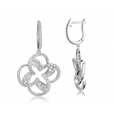 Litude Diamond Earring 18K White Gold