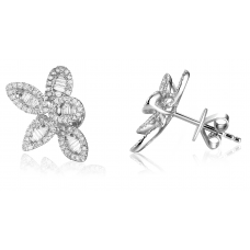 Profusion Diamond Earring 18K White Gold