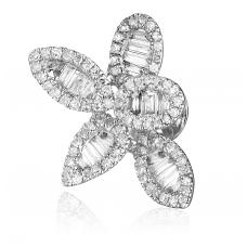 Profusion Diamond Earring 18K White Gold