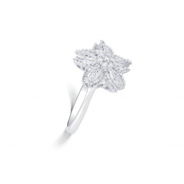 Arizona Channel Diamond Ring