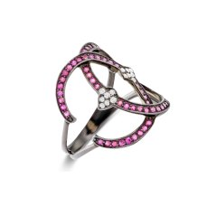 Bearberry Prong Diamond Ring