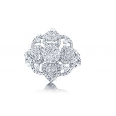 Chigger Prong Diamond Ring