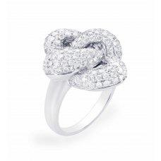 Rusumo Pave Diamond Ring