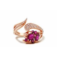 Berlin Ruby Diamond Ring