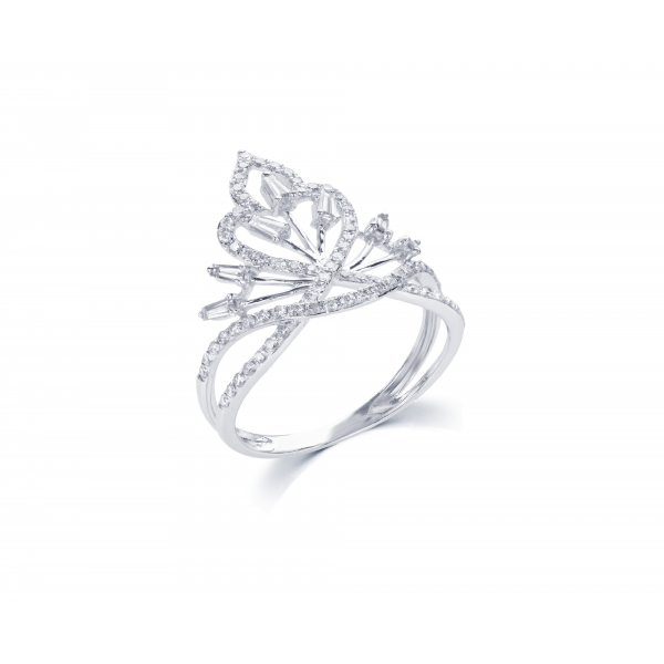 Lamadaya Prong Diamond Ring