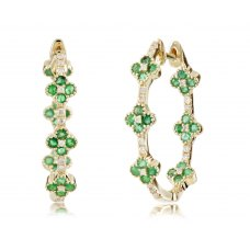 Ballow Prong Diamond Earring