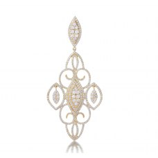 Acho Prong Diamond Earring