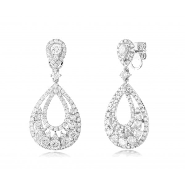 Abbot Prong Diamond Earring