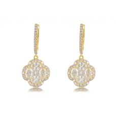 Yosemite Channel Diamond Earring 18K White Gold
