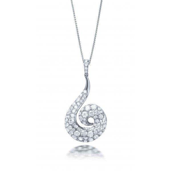 Barossa Cluster Diamond Pendant