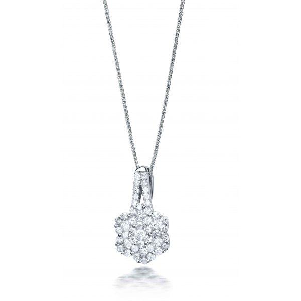 Callide Pave Diamond Pendant