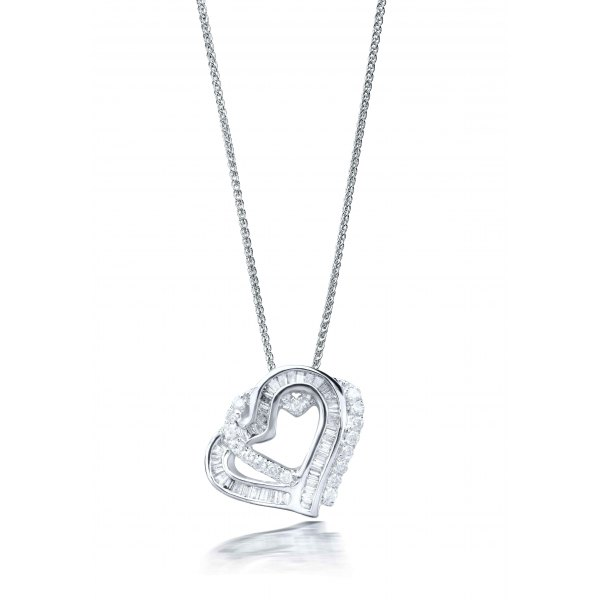 Gastein Prong Diamond Pendant
