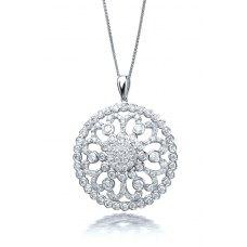 Tempe Prong Diamond Pendant