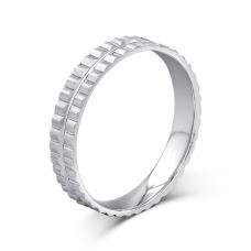 Luinston Lucid Grand Wedding Ring in 18K White Gold(Pair)