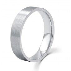Eternally Yours Men's Wedding Ring 18K White Gold