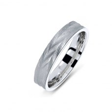 Gwendoline Coppin Wedding Ring 18K White Gold(Pair)